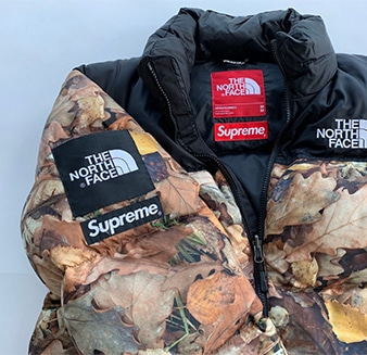 Supreme× THE NORTH FACE 16AW ヌプシ カモ リーブス M ND516021